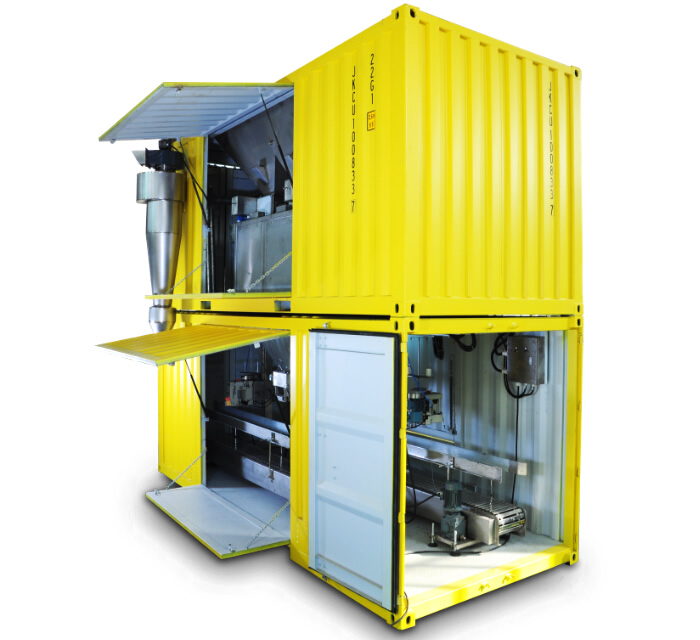 Movable Container Packing machine LCS-BYJ-1